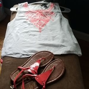 Top and sandals Summer Bundle